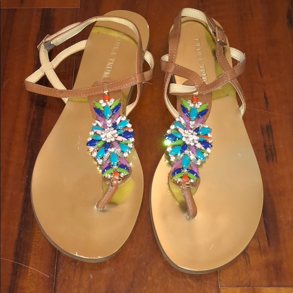475a452e721e Ivanka Trump jeweled sandals sz. 8.5